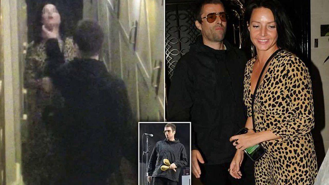 Difunden video de Liam Gallagher ahorcando a su novia