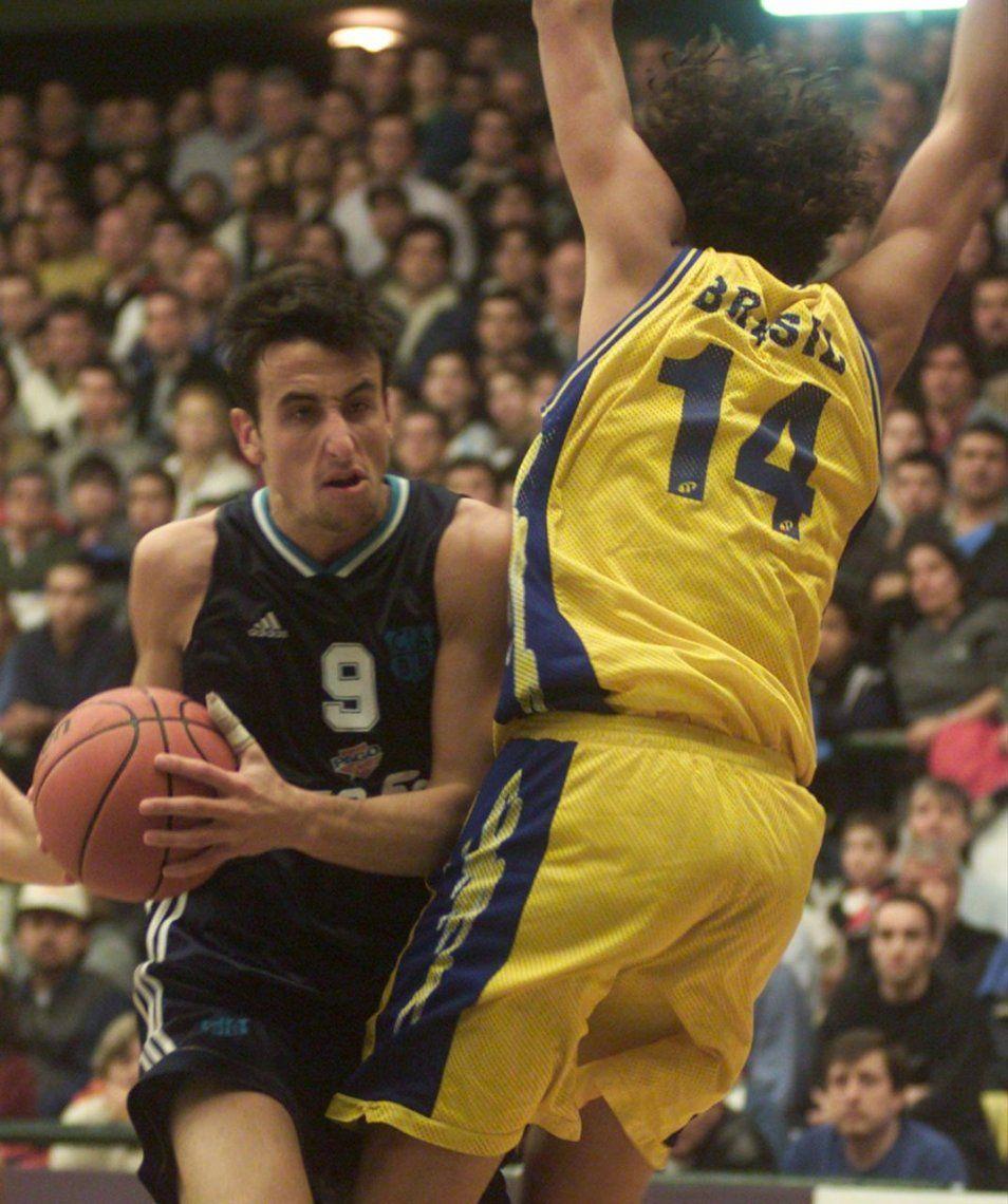 La increíble carrera de Manu Ginóbili en fotos