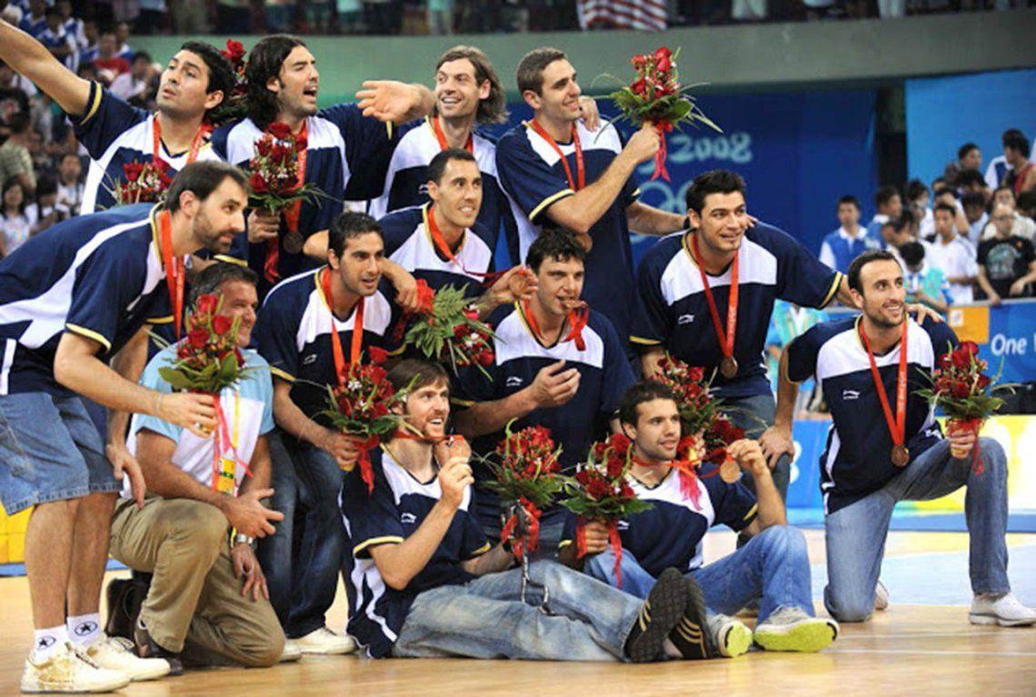 El día que las lágrimas de Ginóbili motivaron a la Selección para ganar una Medalla