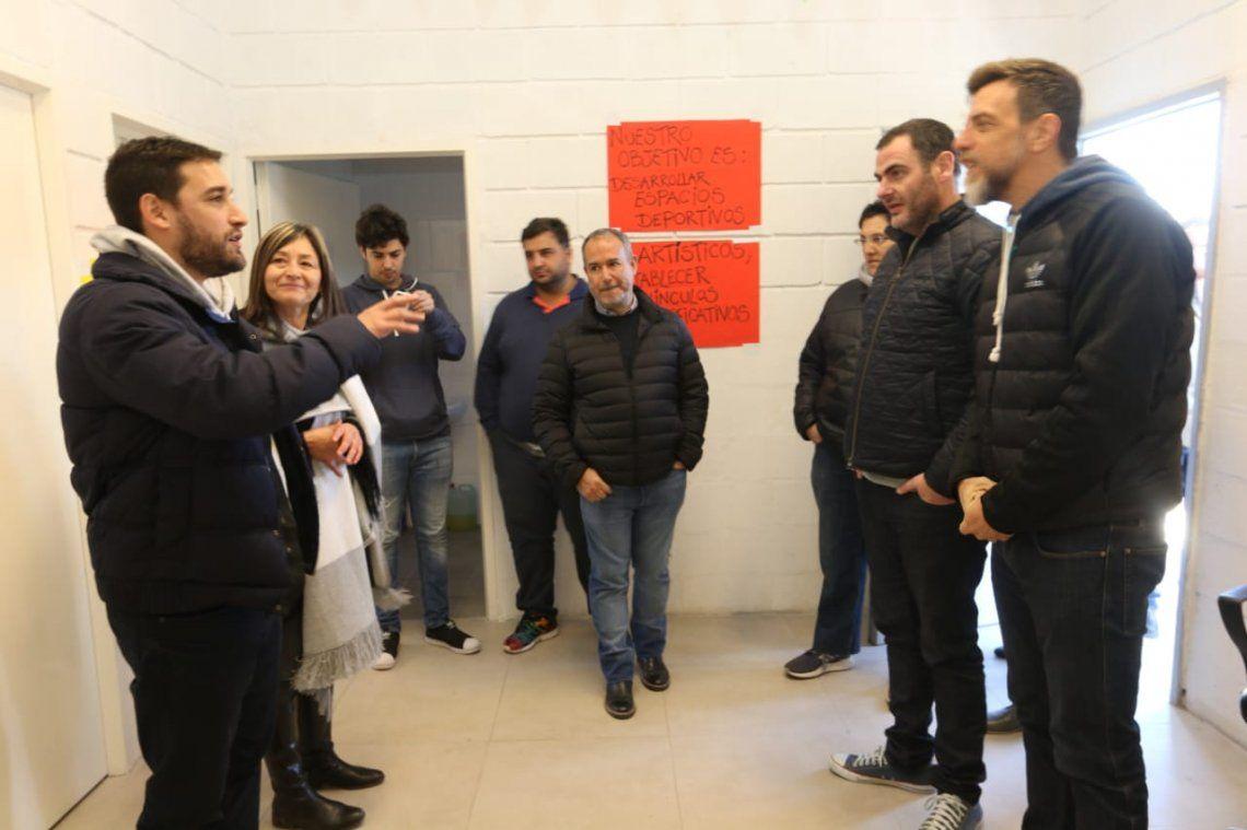 La SEDRONAR inauguró una oficina de abordaje territorial en Lanús