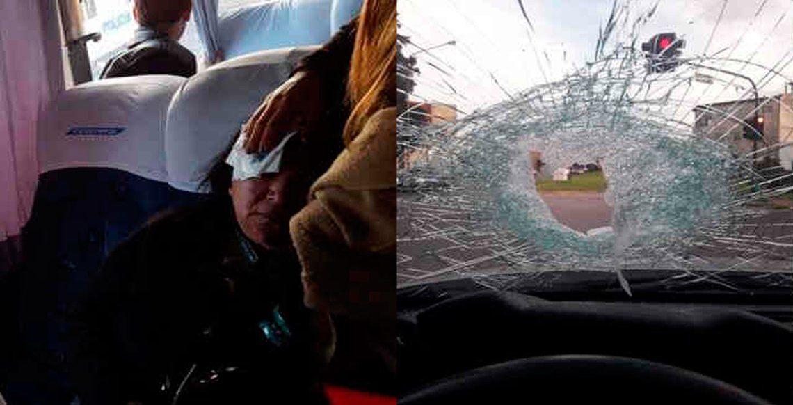 Peligro en la autopista por los ataques con piedras a vehículos