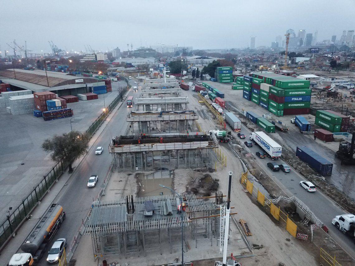 Obra Paseo del Bajo: cuándo se inaugura, calles, el falso túnel y cómo será el tránsito