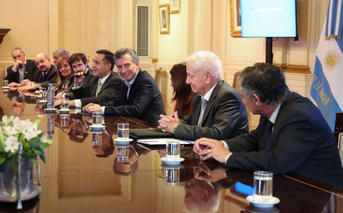 Macri se reunió con los rectores de las universidades públicas en Casa Rosada