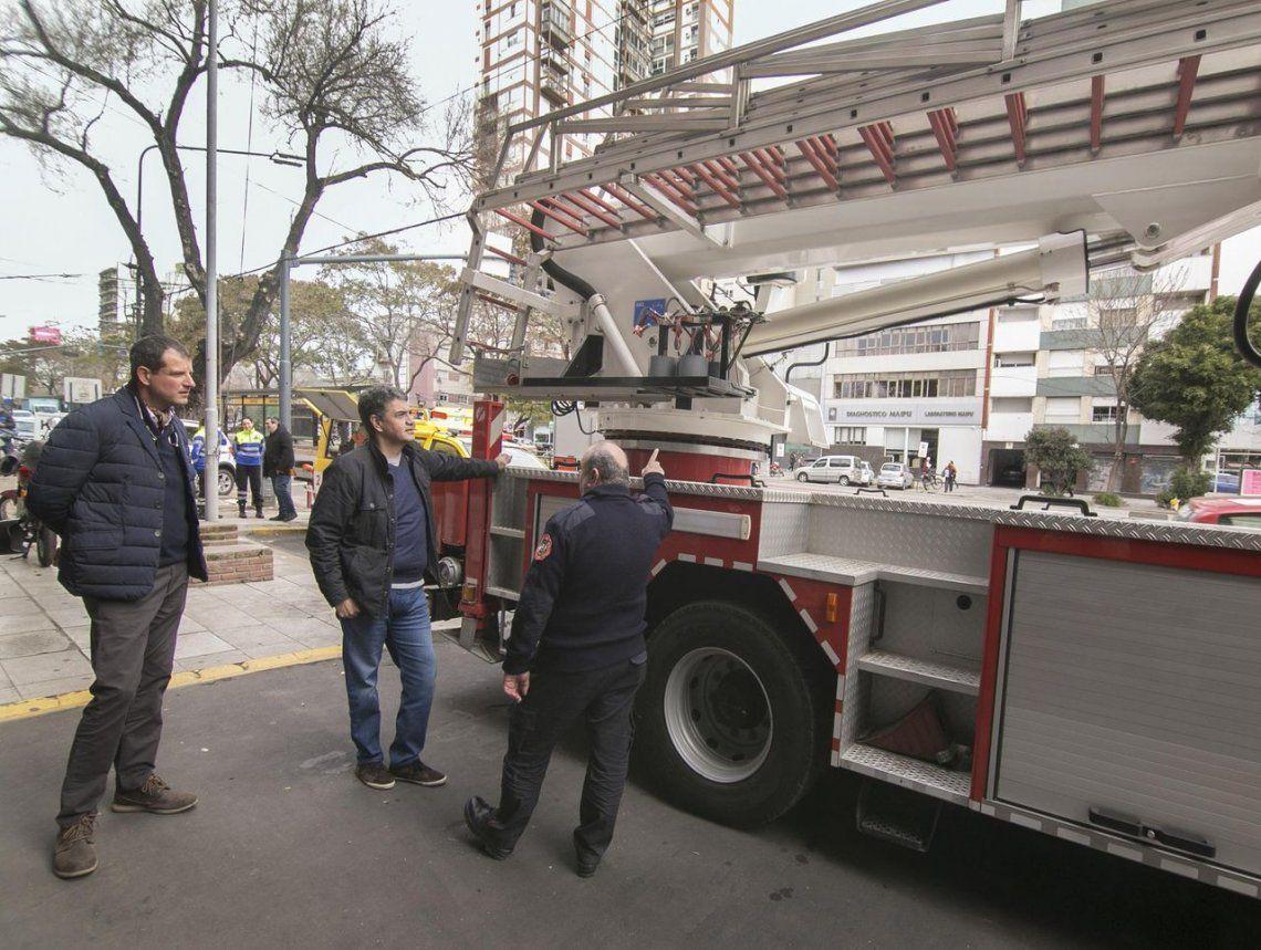 Mejoras para Defensa Civil y Bomberos de Vicente López