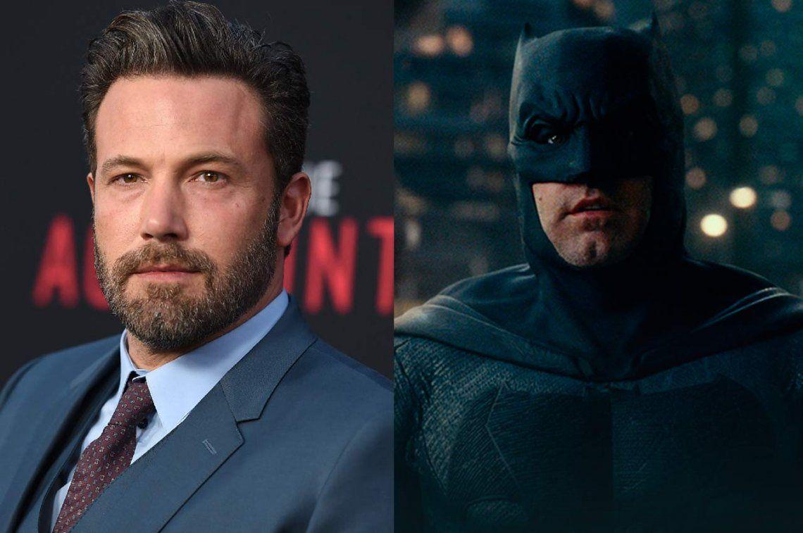 El alcoholismo podría llevar a Ben Affleck a perder el papel de Batman