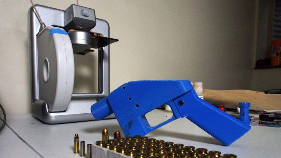 Armas con impresoras 3D: en EEUU ya se venden planos para fabricarlas