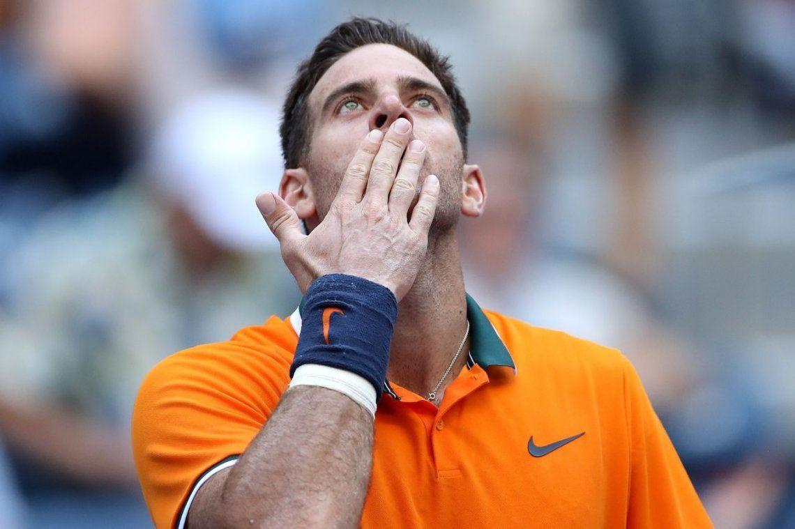 Del Potro volvió a ganar y ya está en la tercera ronda del US Open