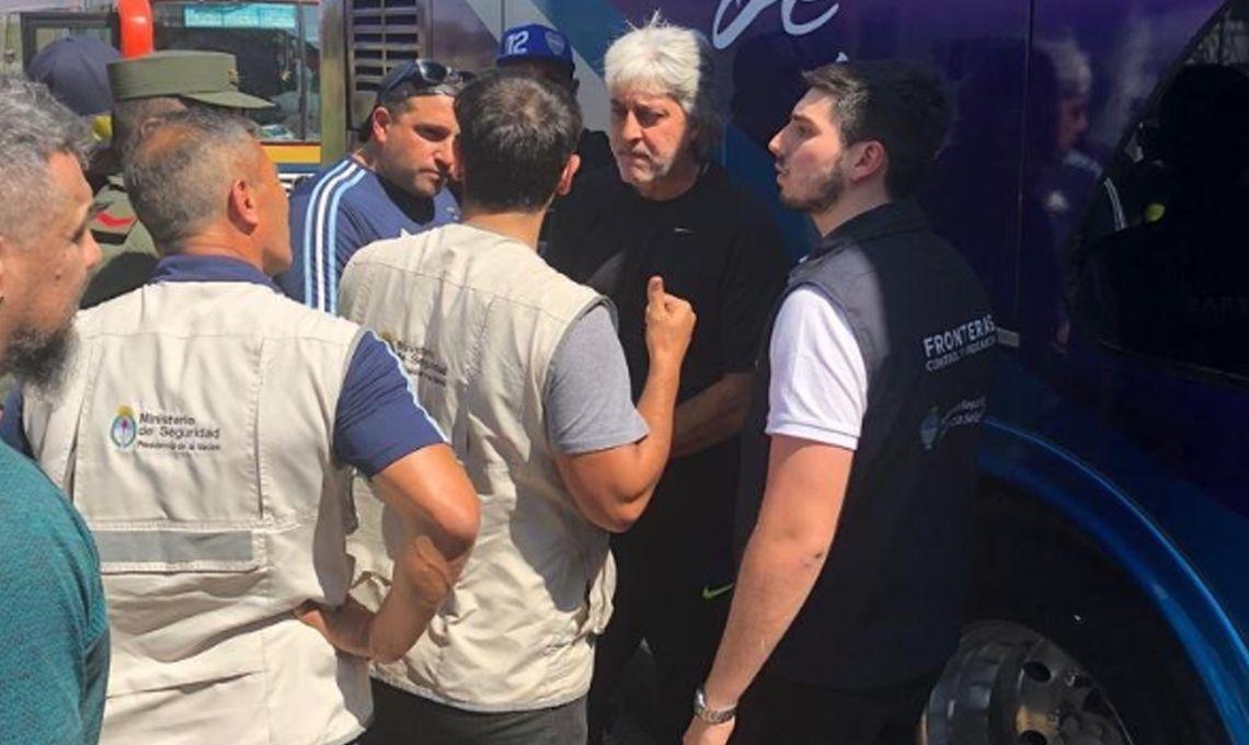 Rafael Di Zeo, Mauro Martín y otros barras bravas de Boca se quedaron en Clorinda