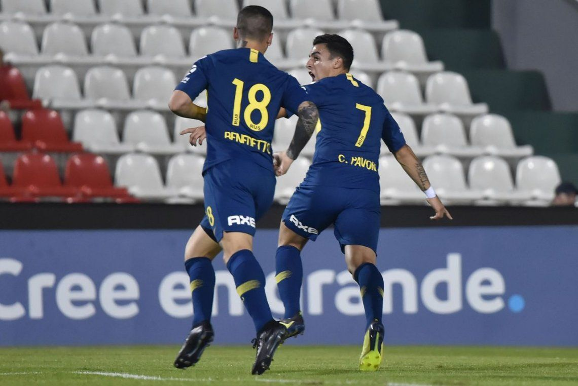 La mejores fotos de la victoria de Boca ante Libertad en octavos de final de la Copa Libertadores