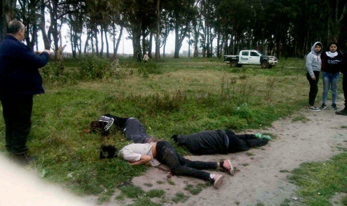 Triple crimen de jóvenes con el sello del narcotráfico