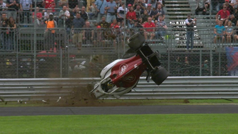 Video | Impresionante accidente en la Fórmula 1