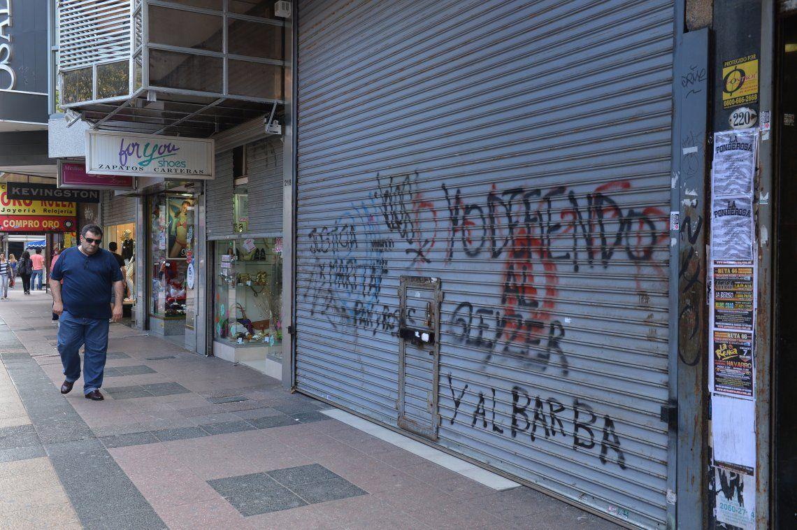 Un 20% de los comercios de Quilmes Centro cerró por la crisis
