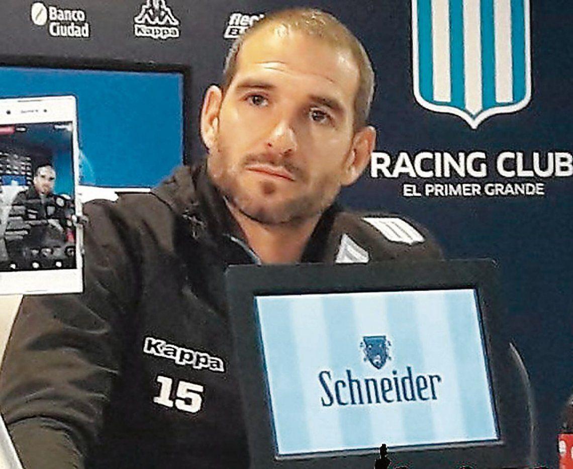 """Lisandro López volvió a Racing """"con la ilusión"""" de ganar la Libertadores y no pudo conseguirlo."""