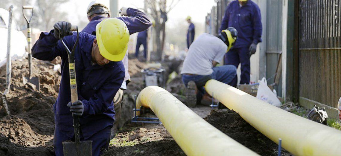 Ponen en marcha la construcción de una planta reguladora de gas