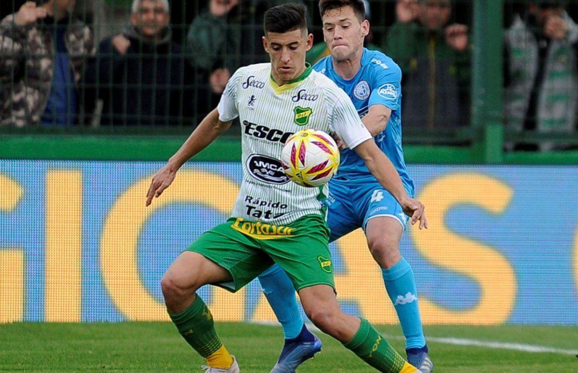 Defensa y Justicia y Belgrano igualaron 1-1 en Florencio Varela