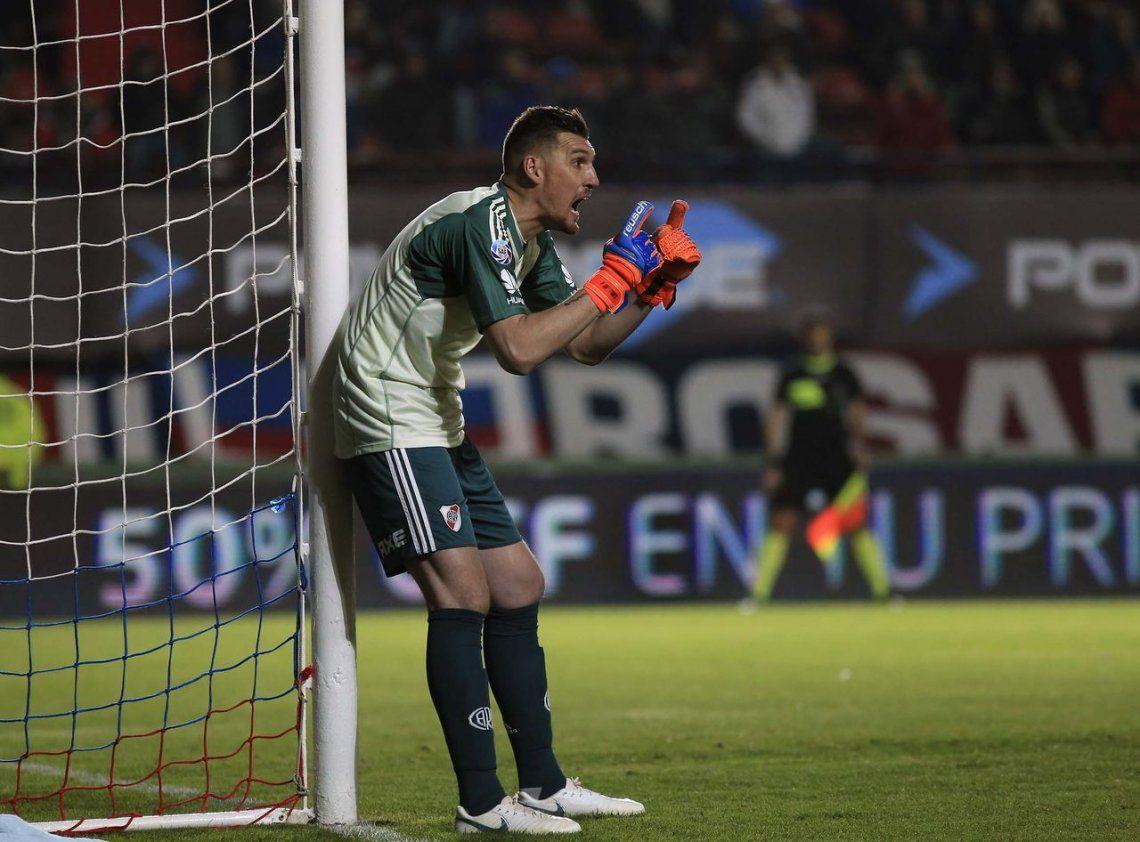 A Armani se le terminó la racha y no pudo batir el récord del fútbol argentino
