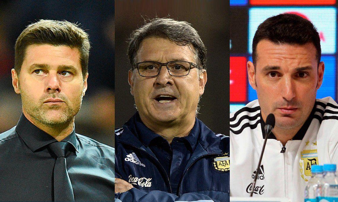 Martino, Pochettino o Scaloni: ¿quién será el técnico de la Selección?