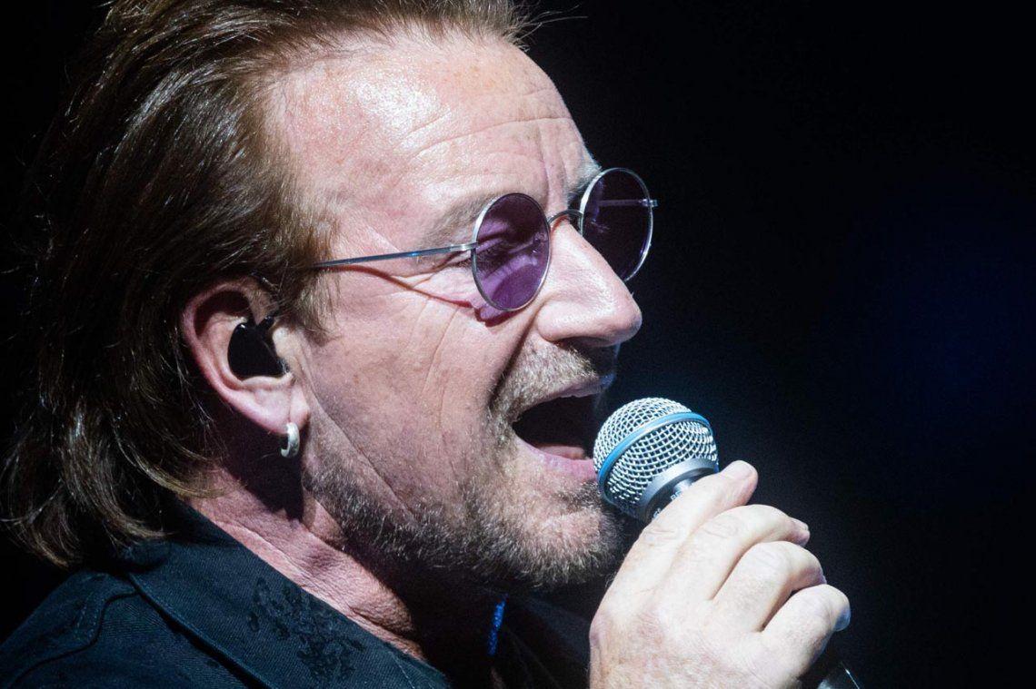 Bono  perdió la voz en pleno recital: No sabemos qué fue lo que pasó