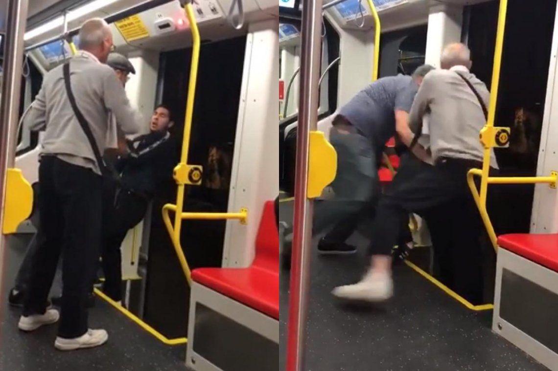 Lo quisieron arrojar del tren porque escuchaba música muy fuerte