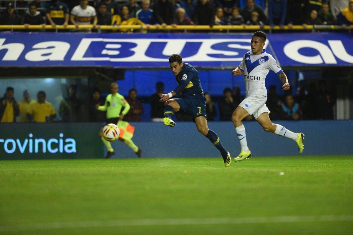 Boca goleó a Vélez y levantó vuelo en el campeonato