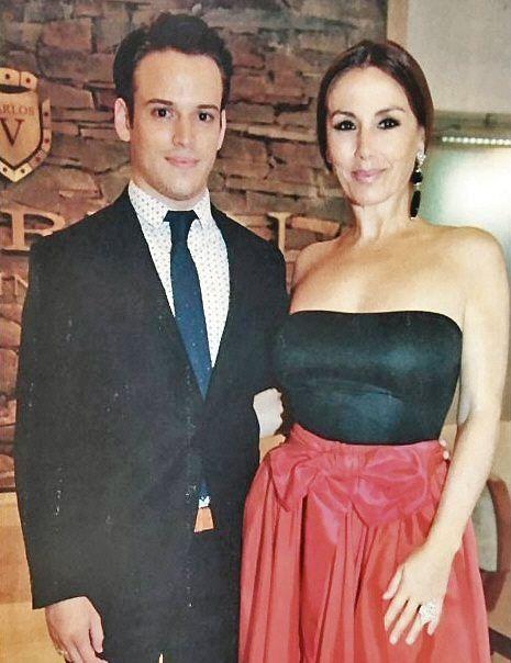 Viviana Saccone no habla de la edad de su novio