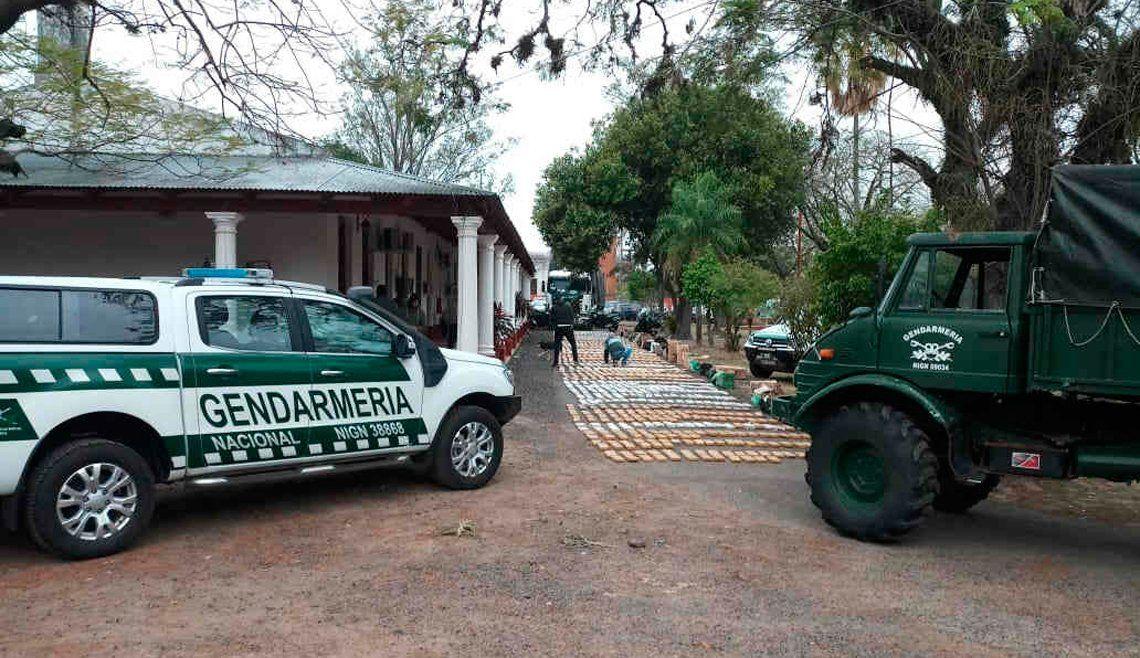 Frustran envío de más de una tonelada de droga a Chile