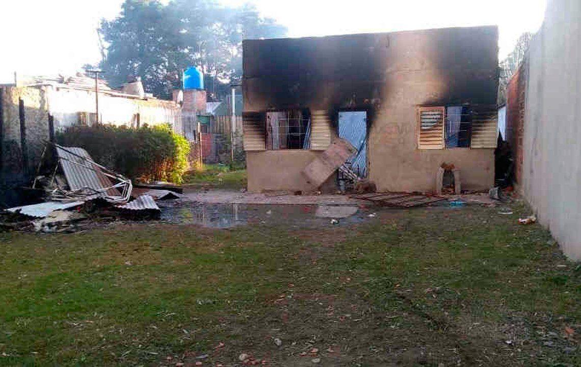 Matan a joven y queman la casa del presunto asesino