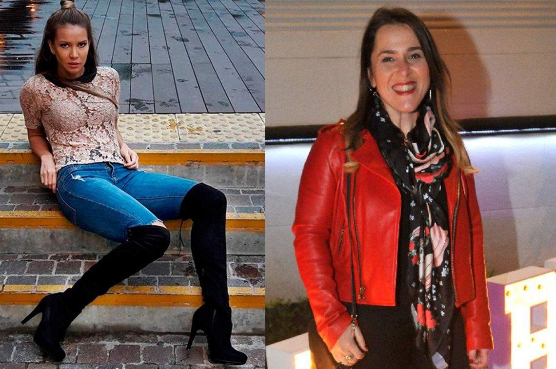 Malena Guinzburg y Dallys Ferreira y un juego de seducción picante