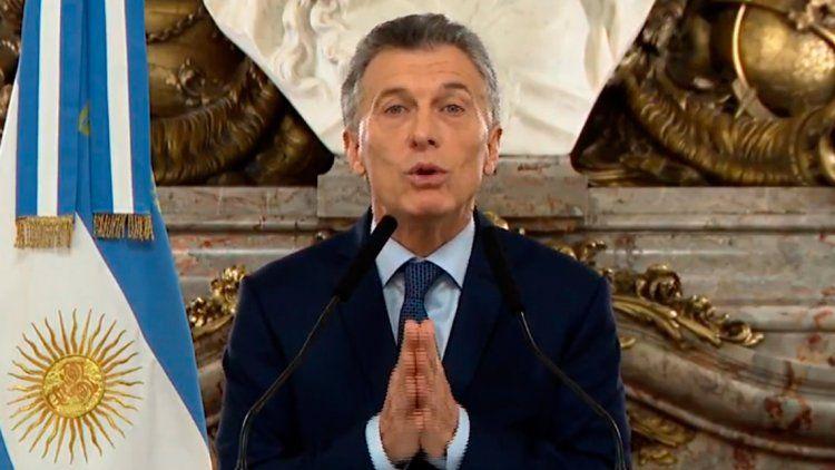 Macri: La devaluación con inflación nos ha pegado