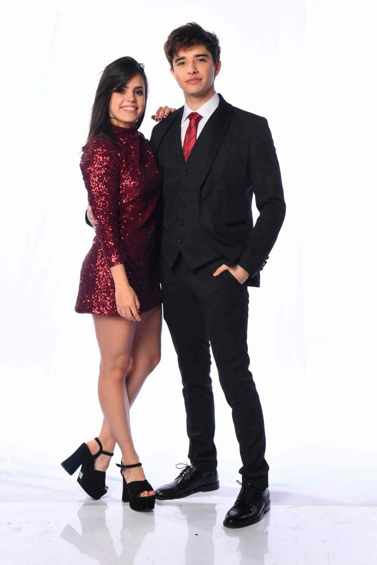 Sofia Morandi y Julian Serrano