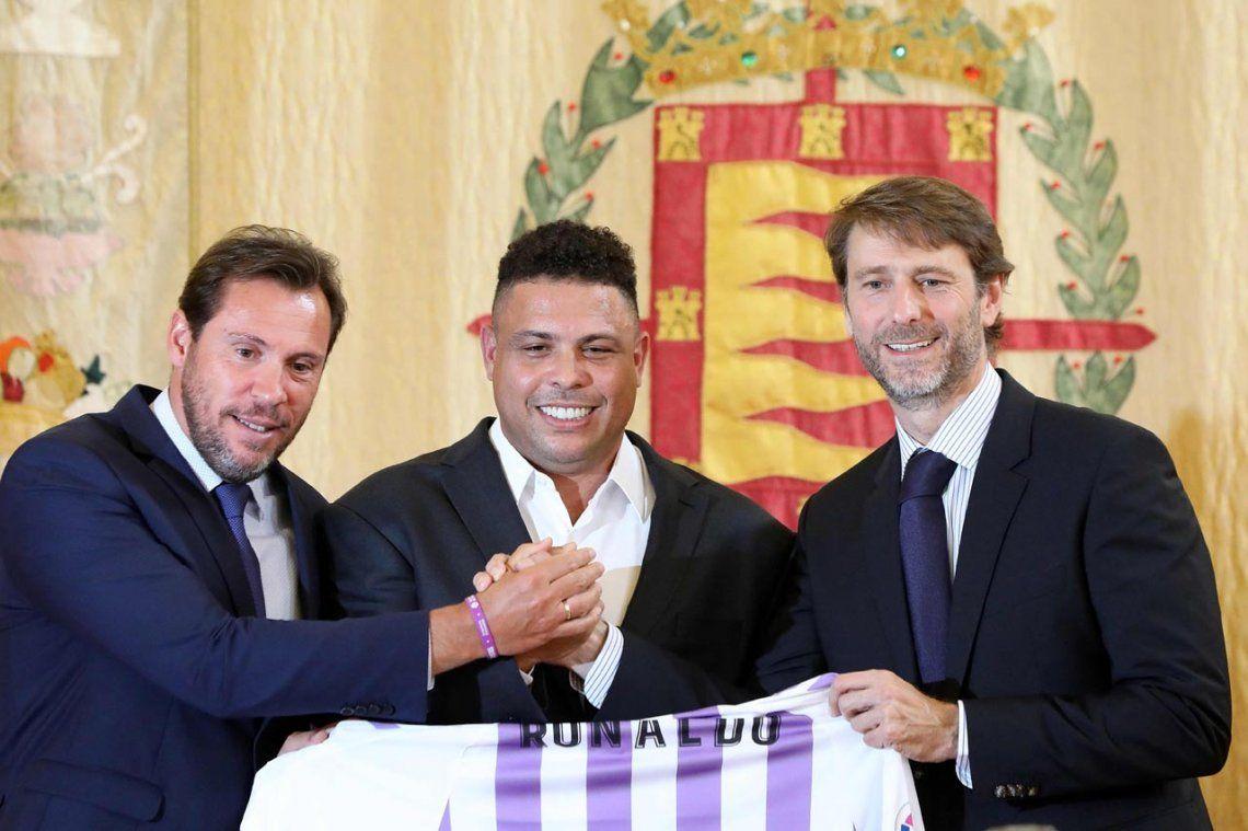 El brasileño Ronaldo compró el Real Valladolid