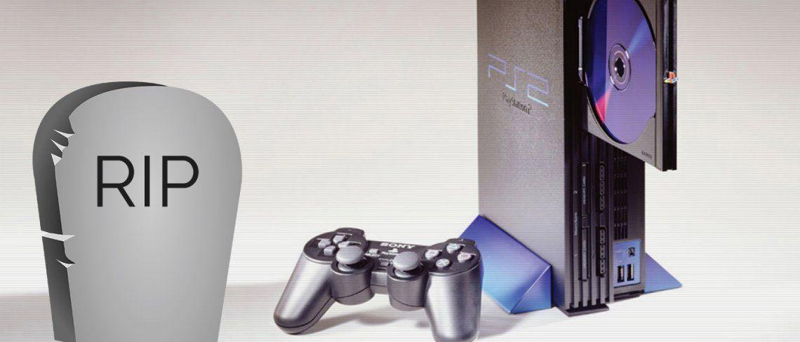 Adiós PlayStation 2, que la fuerza te acompañe