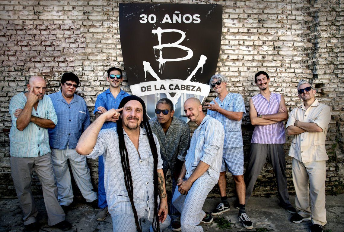 Bersuit Vergarabat celebra sus 30 Años de  la Cabeza