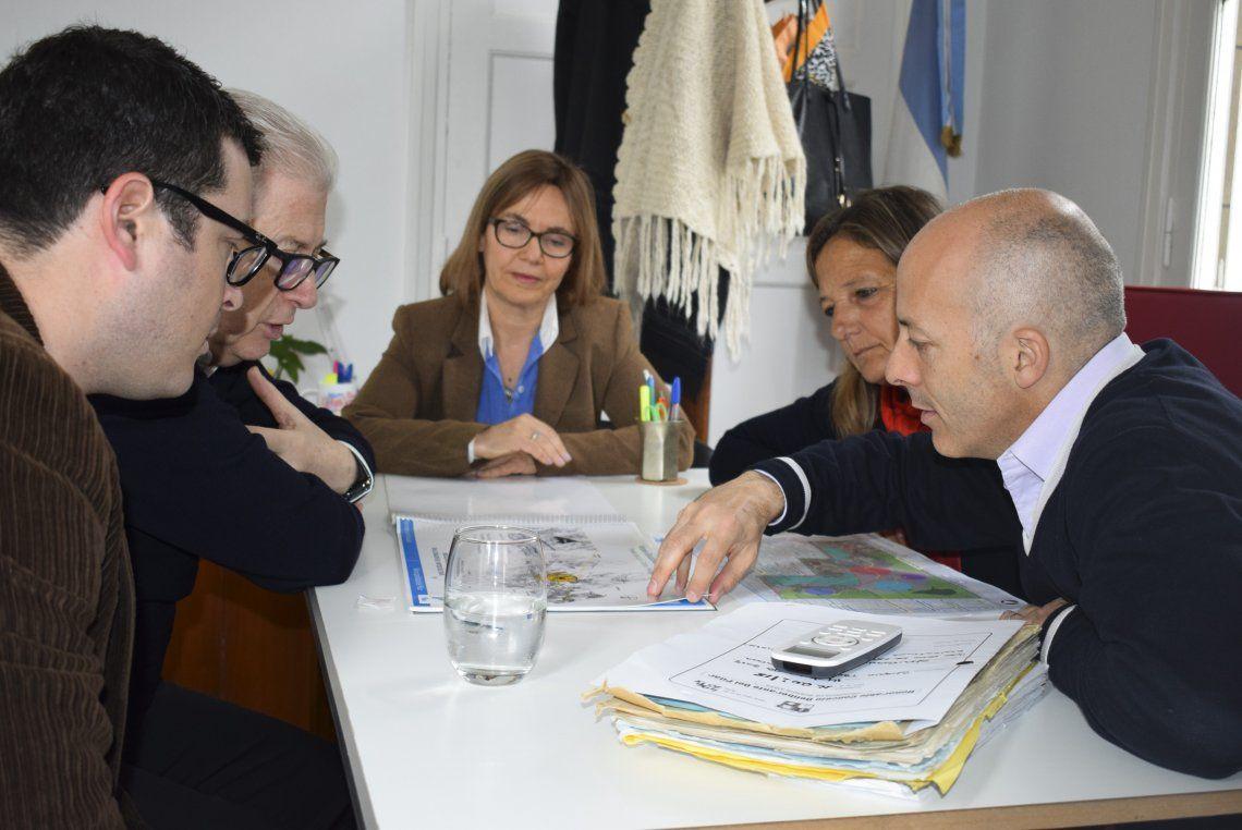 Ducoté recibió a las autoridades de la Universidad de Palermo