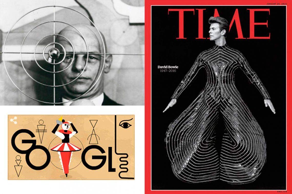 Oskar Schlemmer, el artista de la Bauhaus que inspiró a David Bowie
