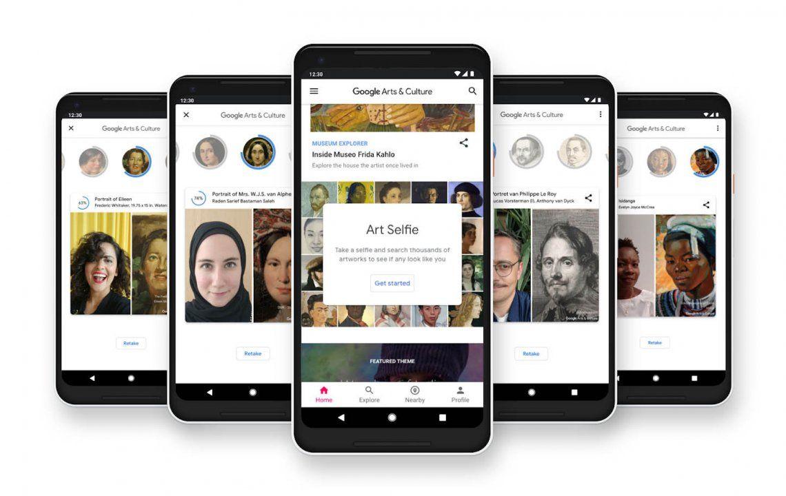 Google Arts & Culture, la aplicación para conocer qué obra de arte es tu doble con una selfie
