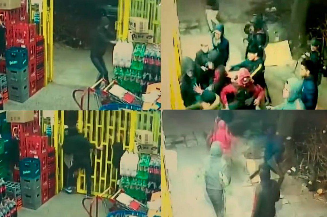Villa Lugano: delincuentes lanzaron un ataque piraña contra supermercado chino