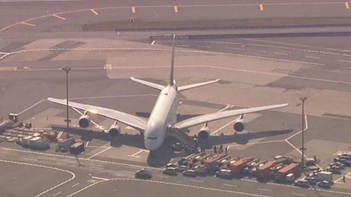 Los videos más impactantes de la emergencia aérea en Nueva York