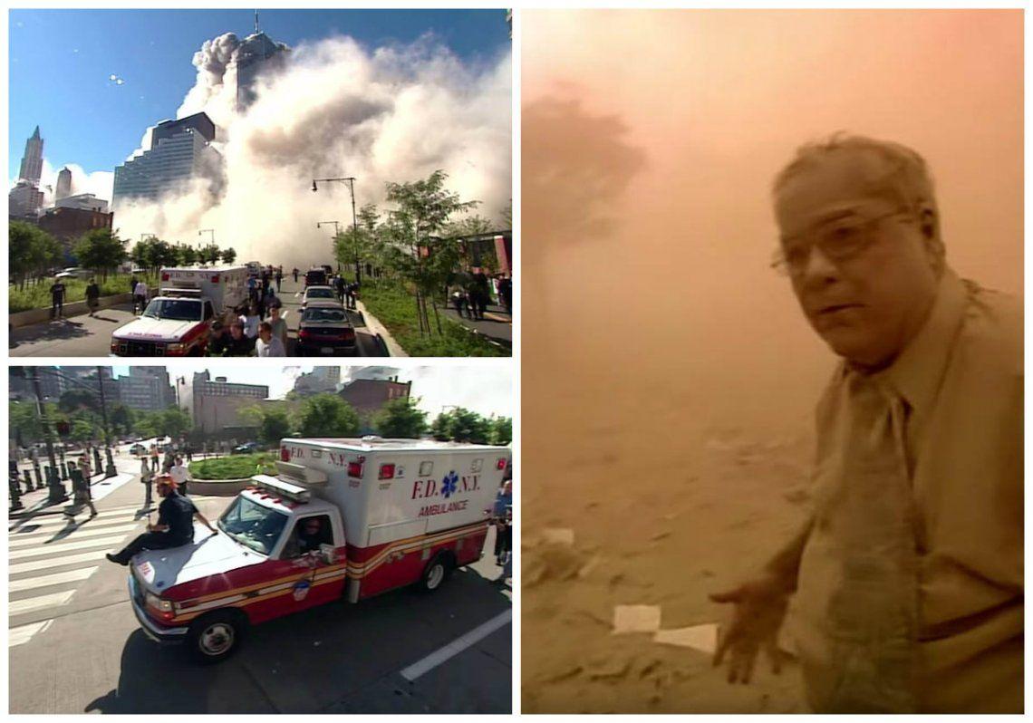 Impactante video inédito del ataque a las Torres Gemelas salió a la luz 17 años después