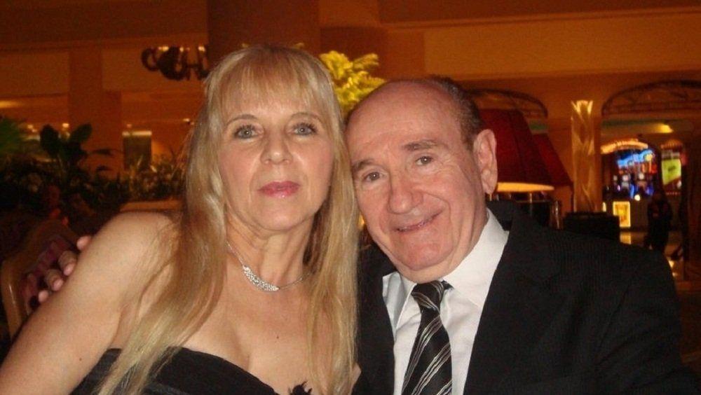 Matilde con su marido