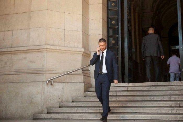 Matías Morla es el abogado de la viuda y quien la representa en la causa