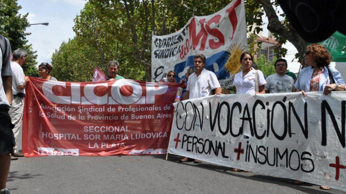 Médicos bonaerenses hacen paro tras no llegar a un acuerdo salarial