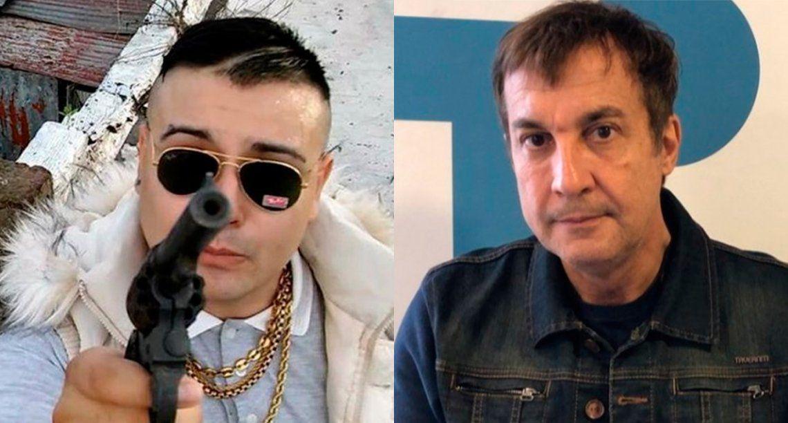 Paulo Vilouta escrachó al cantante de trap El Doctor alertando contra saqueos... ¡y él respondió con todo!
