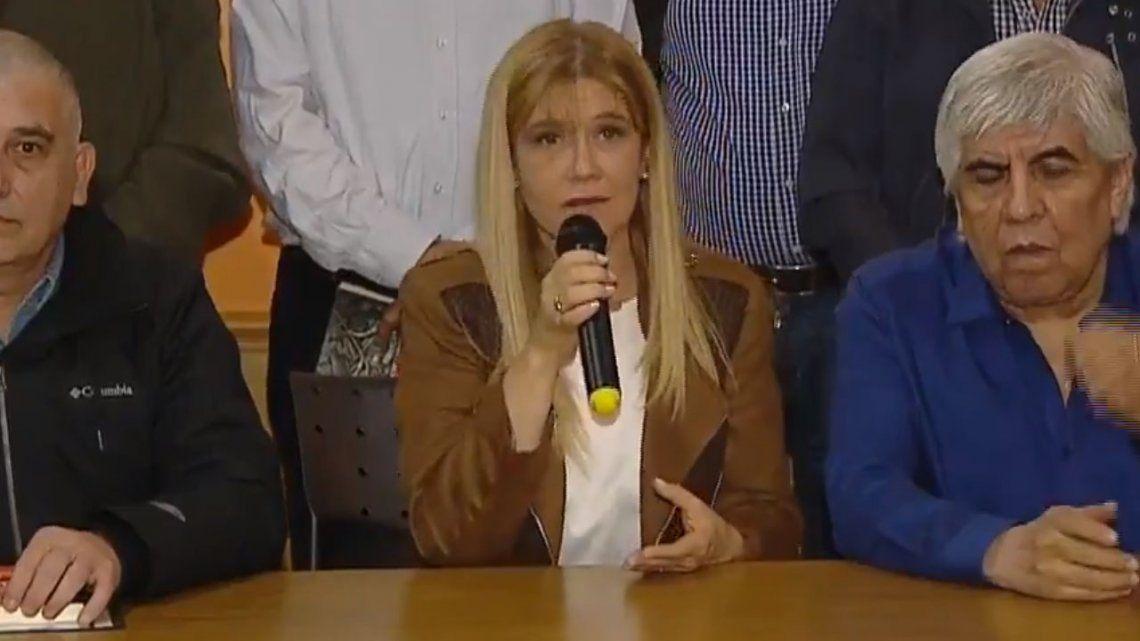 Magario, junto a Hugo Moyano: Pedimos la restitución del fondo sojero