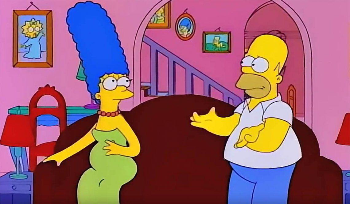 Descubren error en Los Simpson que pasó 23 años escondido