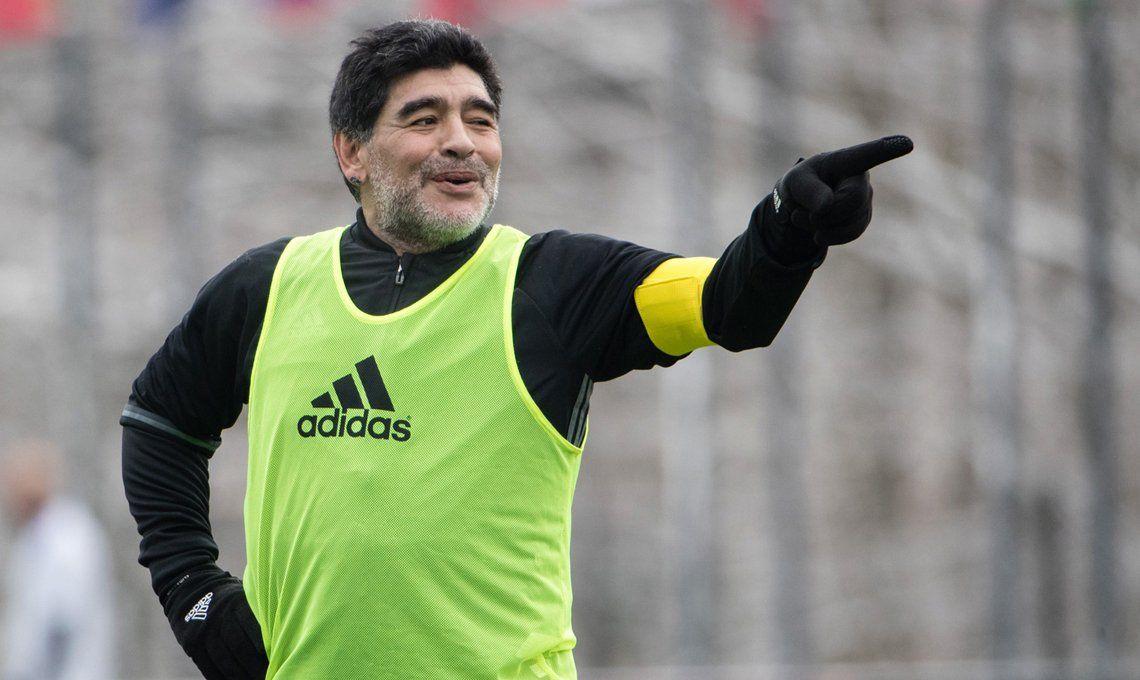 ¿Cuántos equipos dirigió Diego Maradona?