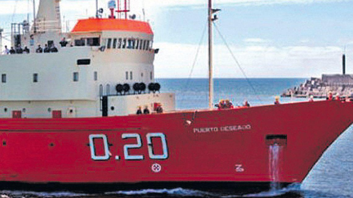 Un buque argentina pasó cerca de las Islas Malvinas y causó revuelo