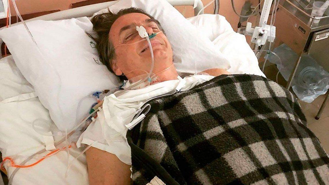 Bolsonaro desde el hospital: ¿Por qué el hombre es tan malo? No le hice mal a nadie