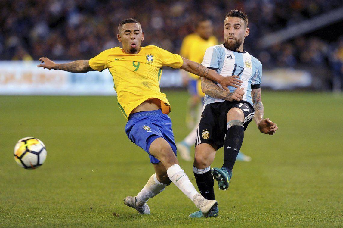 Amistoso Argentina-Brasil: fecha y lugar del partido