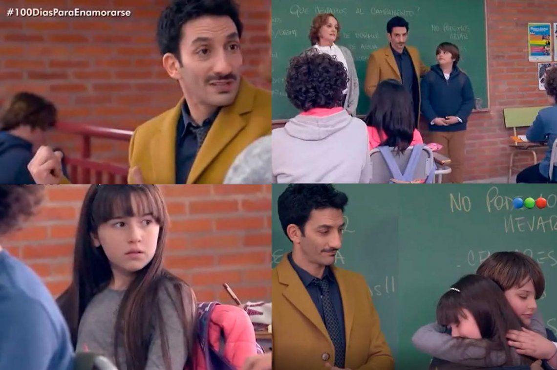 Video | #100DiasParaEnamorarse y una emotiva escena anti bullying